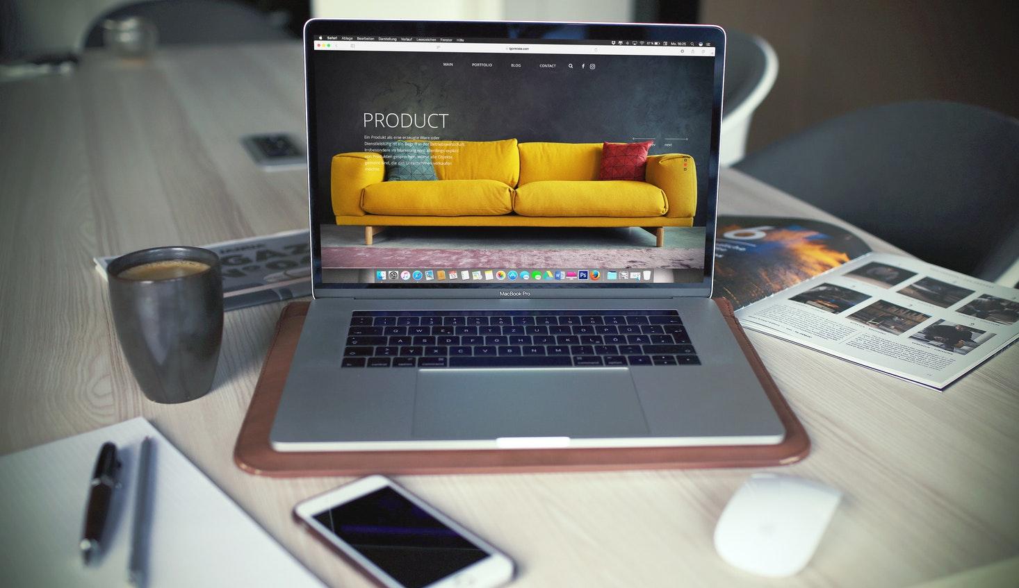 Création d'une site e-commerce à la maison
