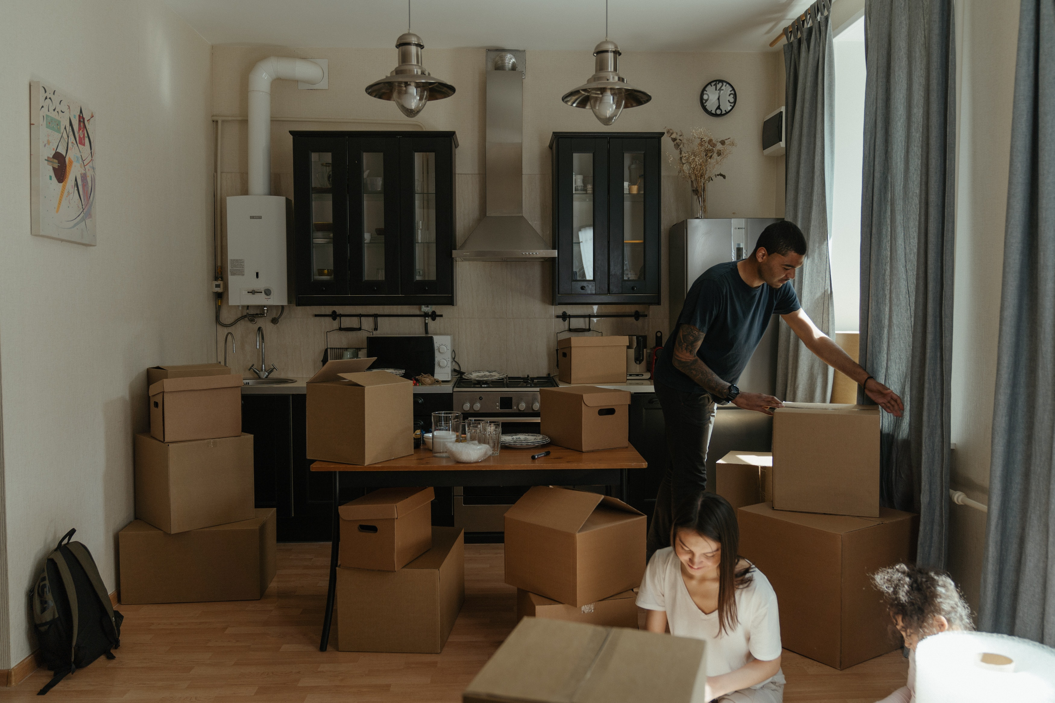 Locataire qui emménage dans son appartement